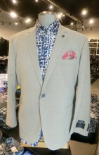2205 Ink Linen Look Sport Coat