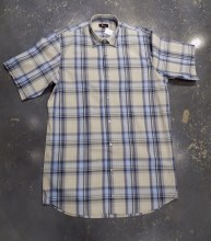 Jon Randall Horizon Dobby Plaid Long Sleeve Summer Shirt