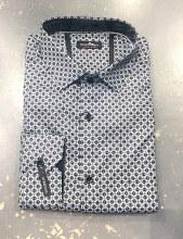 Black Ice Medallion Long Sleeve Sport Shirt