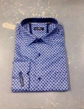 Black Ice Rosette Long Sleeve Sport Shirt