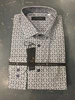Klauss Boehler Meadllion Long Sleeve Sport Shirt