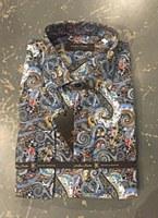 Klauss Boehler Paisley Long Sleeve Sport Shirt