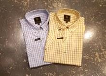 FX Fusion Check Short Sleeve Sport Shirt