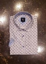 Big & Tall Milano Geometric Short Sleeve Sport Shirt