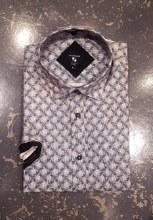 Big & Tall Milano Abstract Short Sleeve Sport Shirt
