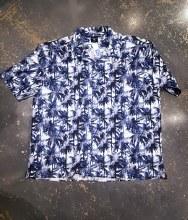 Big & Tall Milano Cotton Palm Laid Back Shirt