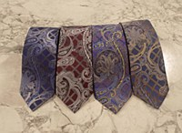 Summerfields 2205 Edition Stately Paisley Silk Tie
