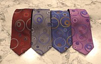 Summrefields 2205 Edition Circle Motif Silk Tie