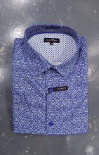 Black Ice Paisly Short Sleeve Shirt