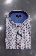 Black Ice Abstract Short Sleeve Shirt