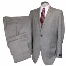 Henry Grethel Sport Check Grey Suit