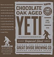 Great Divide Chocolate Yeti 22