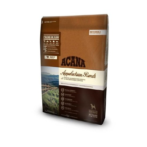 Acana Appalachian Ranch Grain Free Formula 5lbs Dry Dog Food