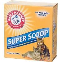 Arm & Hammer Super Scoop Unscented Baking Soda Clumping Litter 14lbs