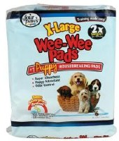 Four Paws Wee-Wee Puppy Housebreaking pads 6-Packs X-Large
