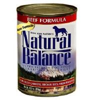 Natural Balance 13.2oz Beef Can