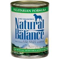 Natural Balance 13.2oz Vegetarian Can