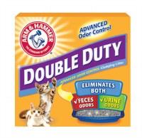 Arm & Hammer Double Duty Clumping Cat Litter 28lbs