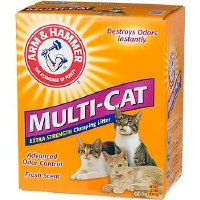Arm & Hammer Multi-Cat Extra Strenght Clumping Cat Litter 28lbs