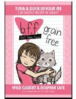 Best Feline Friend 3oz Tuna & Duck Devour Me Recipe (in Gravy) Pouch