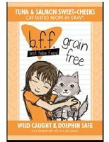 Best Feline Friend 3oz Tuna & Salmon Cheeks Recipe (in Gravy) Pouch