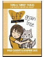 Best Feline Friend 3oz Tuna & Turkey Tickles Recipe (in Gravy) Pouch