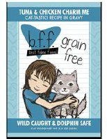 Best Feline Friend 3oz Tuna & Chicken Charm Me Recipe (in Gravy) Case