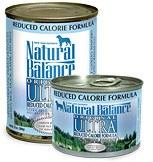 Natural Balance 13.2oz Reduced Calorie Formula Can