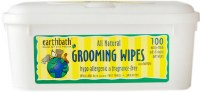 Earthbath Hypo-Allergenic Groomin Wipes for Pets 100 counts