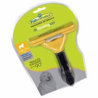 FURminator DeShedding Tool for Large Dogs 4 Inches Large