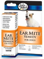 Four Paws Ear Mite Remedy .75oz