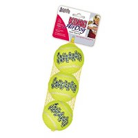 KONG AirDog Squeakair Medium Ball 3-pack Dog Toy