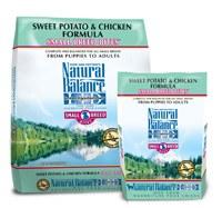 Natural Balance 12.5lbs Small Breed Bites Sweet Potato & Chicken Formula Dry Dog Food