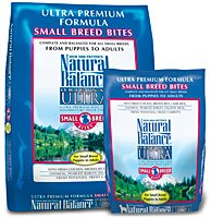 Natural Balance 12.5lbs Small Breed Bites Ultra Premium Dry Dog Food
