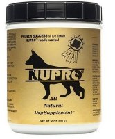 NUPRO All Natural Dog Supplement 30oz