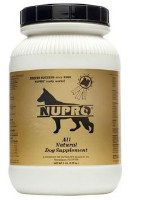NUPRO All Natural Dog Supplement 5lbs