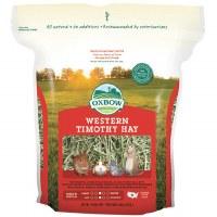 Oxbow Western Timothy Hay Small Animal Food- 15oz-Bag