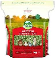 Oxbow Western Timothy Hay Small Animal Food- 40oz-Bag