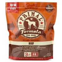 Primal Canine Raw Frozen Beef Formula 3lbs