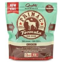 Primal Canine Raw Frozen Chicken Formula 3lbs