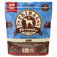 Primal Canine Raw Frozen Duck Formula 3lbs