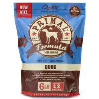 Primal Canine Raw Frozen Duck Formula 6lbs