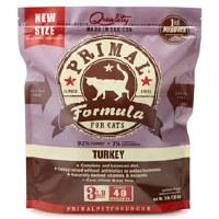 Primal Feline Raw Frozen Turkey Formula 3lbs