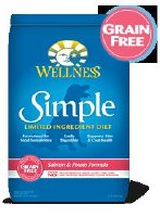 Wellness 10lbs Simple Grain Free Salmon and Potato Formula Dry Food