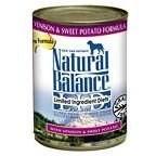 Natural Balance 13.2oz Venison & Sweet Potato L.I.D Can