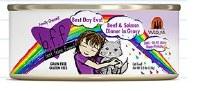 Best Feline Friend 2.8oz Beef & Salmon Dinner Best Day Eva (in Gravy) Can
