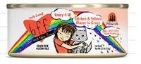 Best Feline Friend 2.8oz Chicken & Salmon Dinner Crazy 4 U (in Gravy) Can
