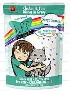 Best Feline Friend 2.8oz Chicken & Tuna Seeya Sooner! (in Gravy) Case