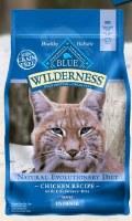 Blue Buffalo Feline Wilderness Indoor Chicken Recipe Dry Food 2lbs