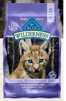 Blue Buffalo Feline Wilderness Kitten Chicken Recipe Dry Food 2lbs